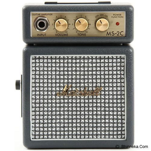 MARSHALL Guitar Amplifier Minimicro [MS-2C] - Vintage Grey - Gitar Amplifier